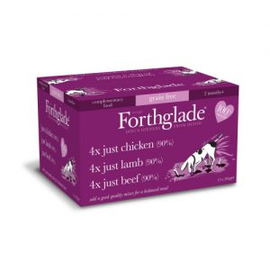 Forthglade Natural Menu Just Multipack Dog Food 395g x 12