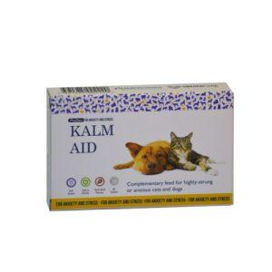 KalmAid Cat & Dog Anxiety Tablets x 30