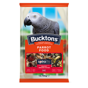 Bucktons Parrot Food with Spiralife