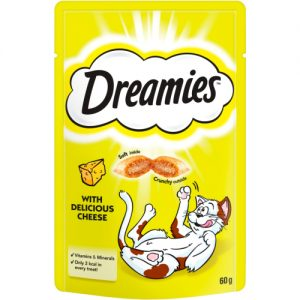 Dreamies Cat Treats with Delicious Cheese
