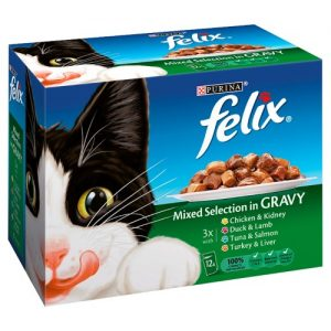 Felix Mixed Selection Cat Food in Gravy