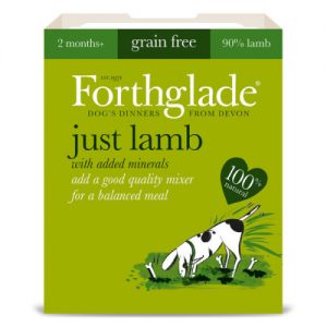 Forthglade Just Lamb Dog Food 395g x 18