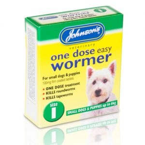 Johnsons Veterinary One Dose Wormer Size 1