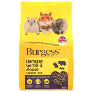 Burgess Complete Hamster, Gerbil & Mouse Food