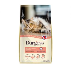 Burgess Complete Scottish Salmon Adult Cat Food