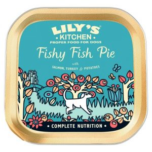 Lilys Kitchen Fishy Fish Pie with Peas Dog Food