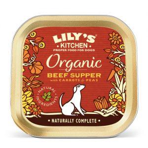 Lilys Kitchen Organic Beef & Spelt Supper Dog Food