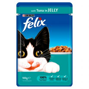 Felix with Tuna in Jelly Cat Food