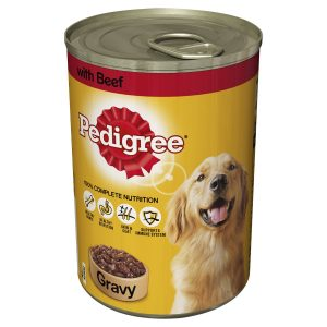 Pedigree Adult Beef in Gravy Dog Food