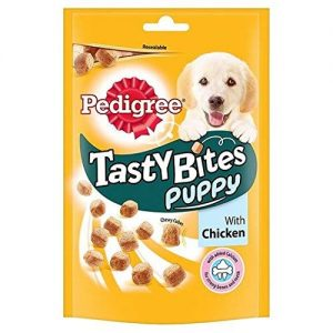 Pedigree Puppy Tasty Bites with Chicken Puppy Treats