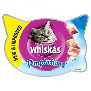 Whiskas Temptations Cat Treats with Salmon