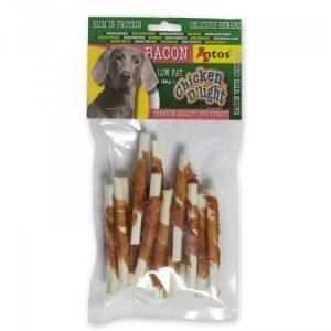 Antos Chicken D'Light Bacon Dog Treats