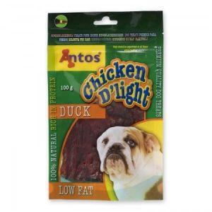 Antos Chicken D'Light Duck Dog Treats