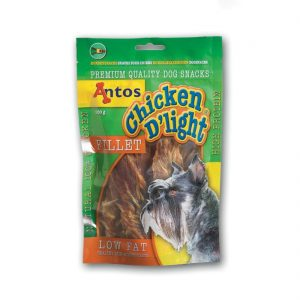 Antos Chicken D'Light Fillet | Size: 100g | Dog Treats