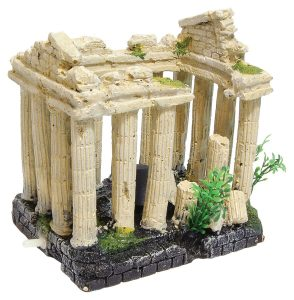 Aqua Spectra Air Bubble Ancient Columns Aquarium Ornament