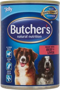 Butchers Beef & Liver in Jelly Dog Food