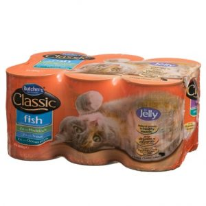 Butchers Classic Fish Variety in Jelly Cat Food