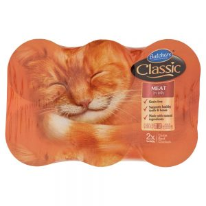 Butchers Classic Meat Variety in Jelly Cat Food