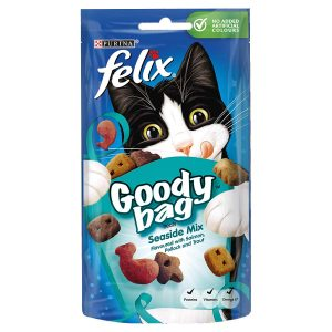 Felix Seaside Mix Goody Bag Cat Treats