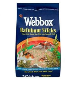 Webbox Rainbow Sticks Fish Food