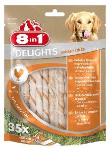 8in1 Delights Chicken Twist Sticks (35 Sticks)