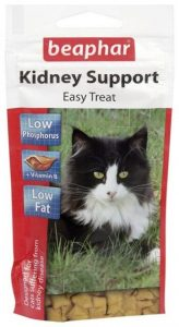 Beaphar Kidney Support Easy Treat for Cats | Size: 35g Bag | Cat Health Supplies