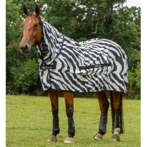 Bucas Sweet Itch Zebra - 6 foot 6 inch