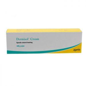 Dermisol Cream | Size: 100g Tube | Dog Health Supplies