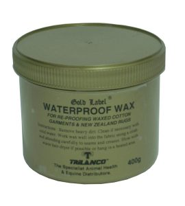 Gold Label Waterproof Wax (400g Tub)