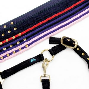 Navy Hy Soft Webbing Head Collar (Cob)