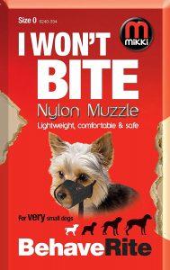 Mikki Nylon Muzzle (Size 0)