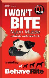 Mikki Nylon Muzzle (Size 1)