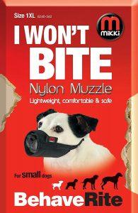 Mikki Nylon Muzzle | Size: 1 XL | Dog Muzzles