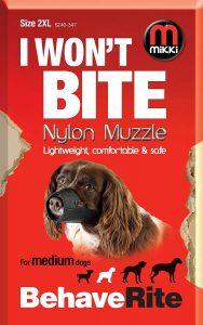 Mikki Nylon Muzzle (Size 2 XL)