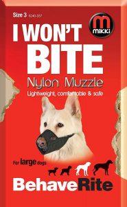 Mikki Nylon Muzzle (Size 3)
