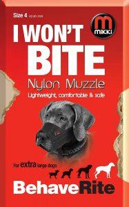 Mikki Nylon Muzzle (Size 4)