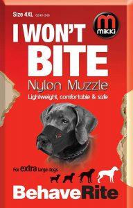 Mikki Nylon Muzzle (Size 4 XL)
