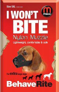 Mikki Nylon Muzzle (Size 5 XL)