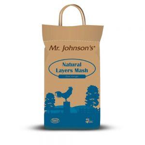 Mr. Johnson's Natural Layers Mash (5kg)