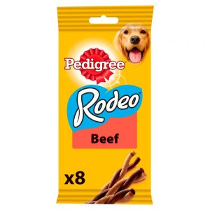 Pedigree Rodeo Beef Chewy Twists (8 Sticks)