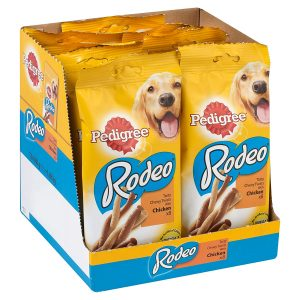 Pedigree Rodeo Chicken Chewy Twists (80 Sticks)