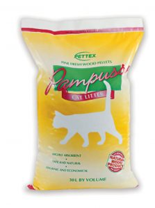 Pettex Pampuss Woodbase Cat Litter (15 Litre)