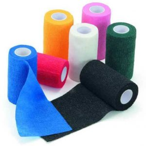 Light Blue Roma Cohesive Bandage (2m)
