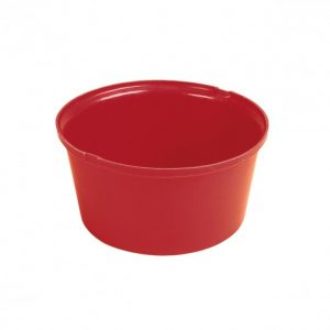 Stubbs Heavy Duty Feed Bowl (Red)