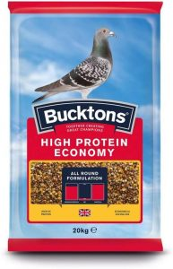Bucktons High Protein Economy Pigeon Feed | Size: 20kg | Bird Food