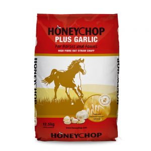 Honeychop Plus Garlic | Size: 12.5kg | Horse Food