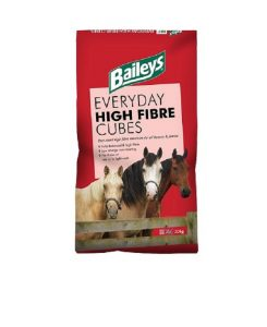 Baileys Everyday High Fibre Cubes | Size: 20kg | Horse Food