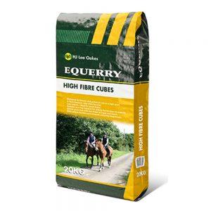Equerry High Fibre Cubes | Size: 20kg | Horse Food