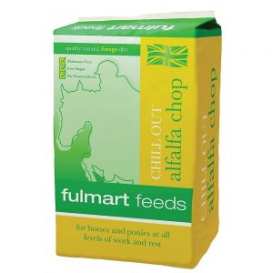 Fulmart Feeds Chill Out Alfalfa Chop | Size: 15kg | Horse Food