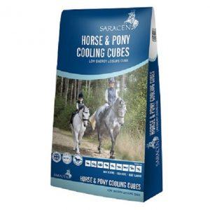 Saracen Horse & Pony Cooling Cubes | Size: 20kg | Horse Food